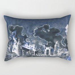 Cottbus Skyline by carographic, Carolyn Mielke Rectangular Pillow