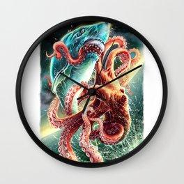 Mako Sharks Wall Clock
