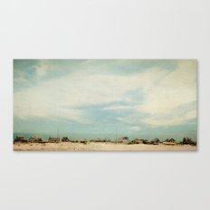 Sleepy Beach Town #2 Canvas Print