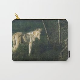 Little Blue-Eyed Filly Carry-All Pouch