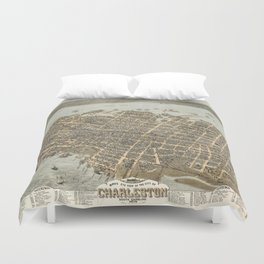 Charleston 1872 Duvet Cover