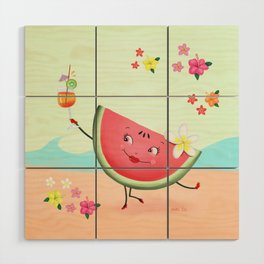 Watermelon Wood Wall Art