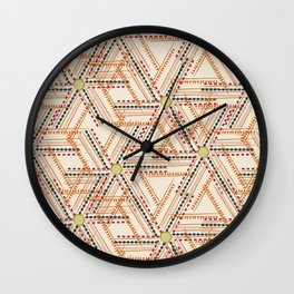 Afro Fusion Dawn Wall Clock