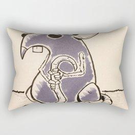 Scared Rectangular Pillow