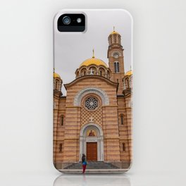 Banja Luka Cathedral in Bosnia and Herzegovina iPhone Case