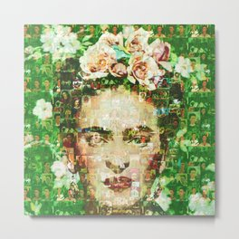 Frida Essense Metal Print