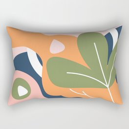 Nature Geometry 01 Rectangular Pillow
