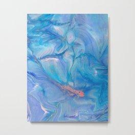 Magical fish Metal Print