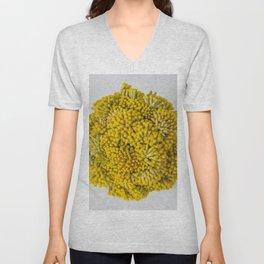 curry flowers II Unisex V-Neck