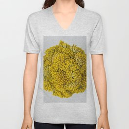 curry flowers II Unisex V-Neck