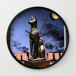 Dreaming of Schrödinger - Who Let the Cat Out? Wall Clock