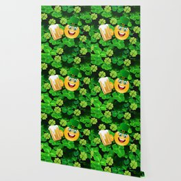 St. Patrick Day Emoticon Wallpaper