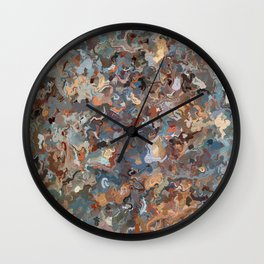 Lacebark Elm Tree Graphic Art #3508 Wall Clock