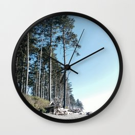 Washington  State beach Wall Clock
