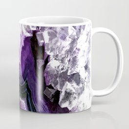 Ultra Violet Agate Illustration Coffee Mug