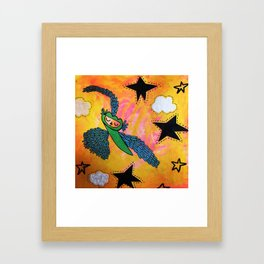 Anything is possible. Anything. Framed Art Print