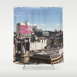 Glasgow with a view Shower Curtain