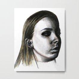 Jenna. Metal Print