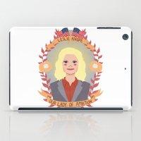 leslie knope iPad Cases featuring Leslie Knope by heymonster