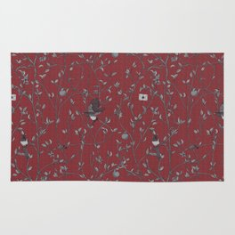 Victorian Style Wallpaper Rug