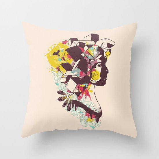 Overcrowded Memory Throw Pillow