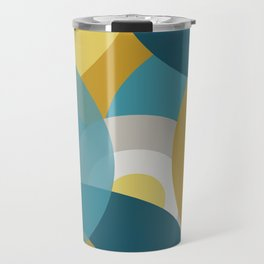Retro Circles Travel Mug