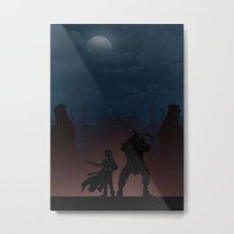 Fullmetal Alchemist | Warriors Landscapes Serries Metal Print