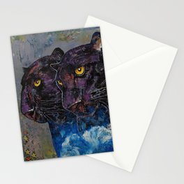 Black Panthers Stationery Cards