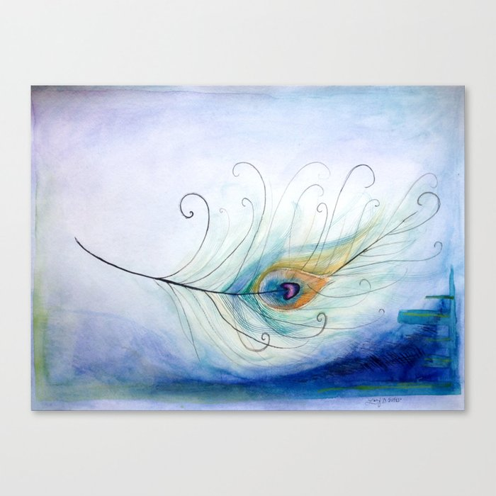 Peacock Paintings On Canvas
