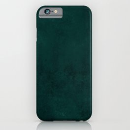 Beautiful Teal and Gold Marble Design iPhone Case