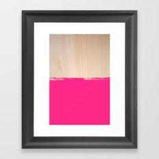 Sorbet IV Framed Art Print