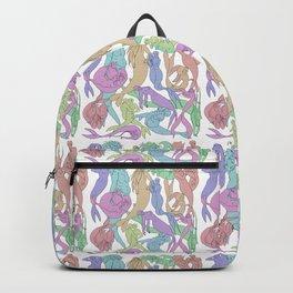 Mermaid pattern Backpack
