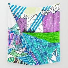 landscape of wonder Wall Tapestry