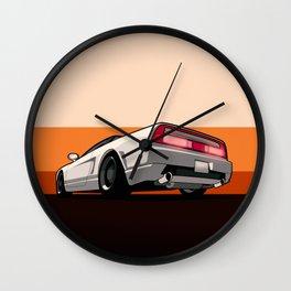 White Honda Acura NSX Wall Clock