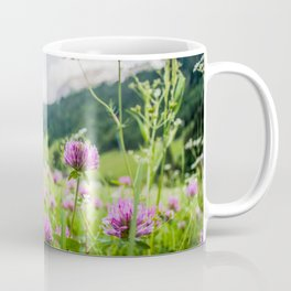 Pink Country Wildflowers | Europe Switzerland Nature Landscape Plant Photography Coffee Mug