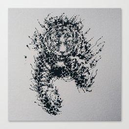 Splaaash Series - Tiger Ink Canvas Print