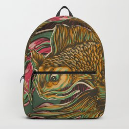 Japanese Fish Backpack