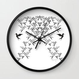 Birds Birds Birds : All The Birds : Birds Birds Birds : No More Birds Wall Clock