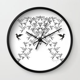 Birds Birds Birds : All The Birds : Birds Birds Birds : No More Birds Wall Clock