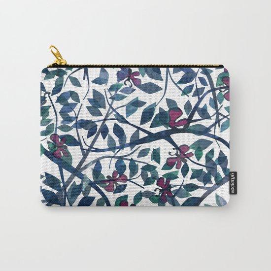 Butterflies in the Garden Carry-All Pouch
