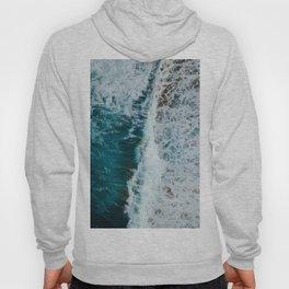 crashing waves- beach Hoody