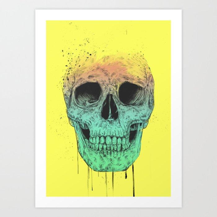 Pop Art Skull Art Print By Soltib Society6