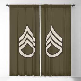 Staff Sergeant (Brown) Blackout Curtain