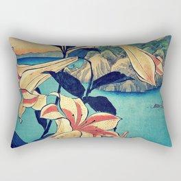 Deep Stare Honen Rectangular Pillow