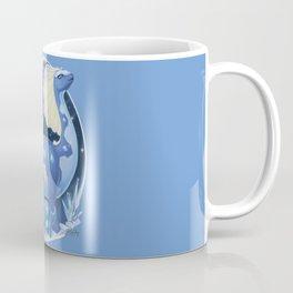 Amaura and Aurorus: Childlike Enthusiasm Coffee Mug