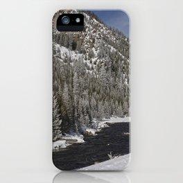 Carol Highsmith - Snow Covered Conifers iPhone Case