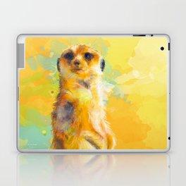 Dear Little Meerkat Laptop & iPad Skin