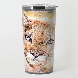 Big Cat Models: Cougars 01-02 Travel Mug