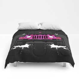 Pixie the Pink TJ Comforters