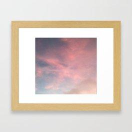 pink paradox Framed Art Print